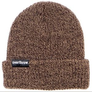 """overthrow Accessories - Overthrow """"Scoundrel"""" beanie in Maple Mars NEW"""